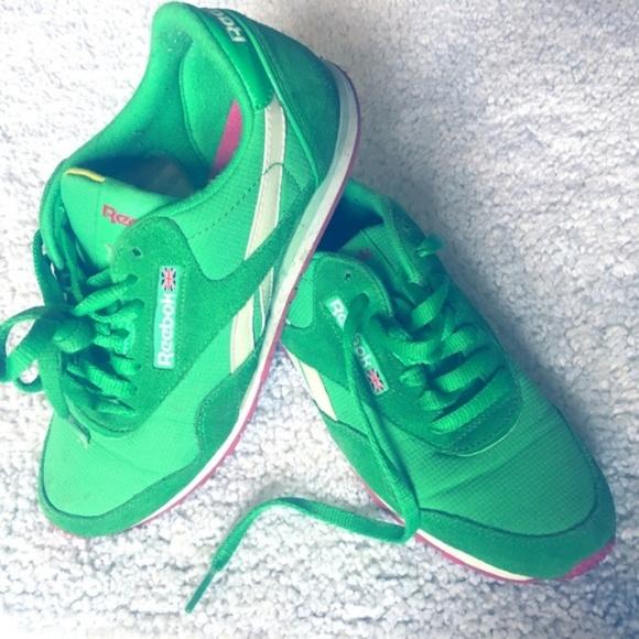 Reebok Classics Kelly Green Shoes